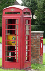 2 Phone box Getting Ready For Restoration Aug4