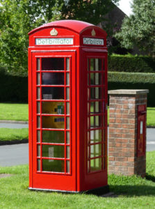 Phone box looking new again
