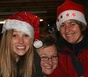 Smiling Committee Members at Carols on the Green